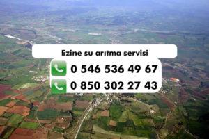 ezine-su-aritma-servisi