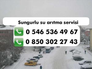 sungurlu-su-aritma-servisi