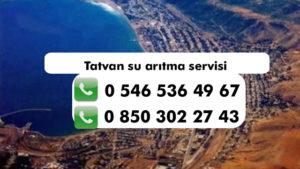 tatvan-su-aritma-servisi