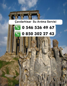 cavdarhisar-su-aritma-servisi