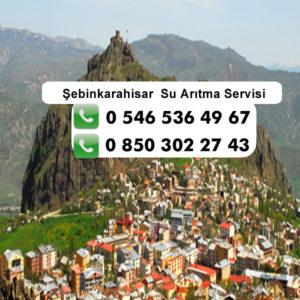 sebinkarahisar-su-aritma-servisi