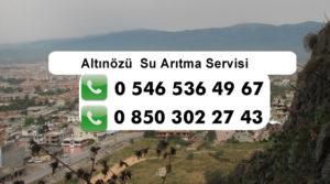 altinozu-su-aritma-servisi