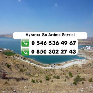 ayranci-su-aritma-servisi