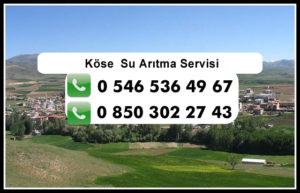 kose-su-aritma-servisi