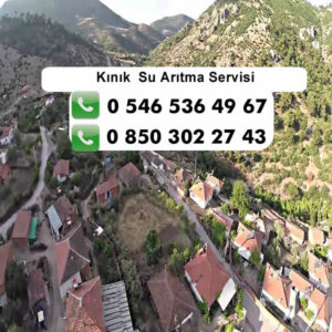 kinik-su-aritma-servisi