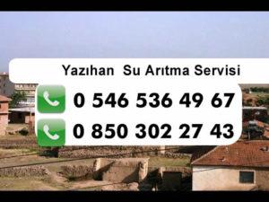 yazihan-su-aritma-servisi