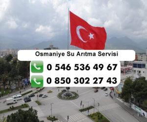 osmaniye-su-aritma-servisi