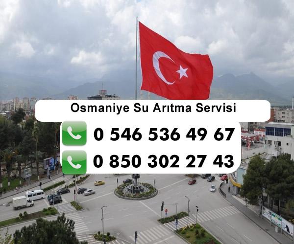 Osmaniye Su Arıtma Servisi