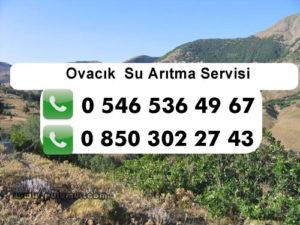 ovacik-su-aritma-servisi
