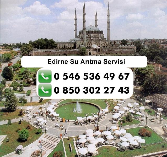 Edirne Su Arıtma Servisi