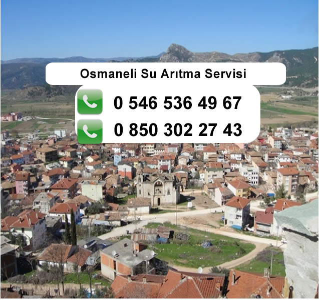 Osmaneli Su Arıtma Servisi